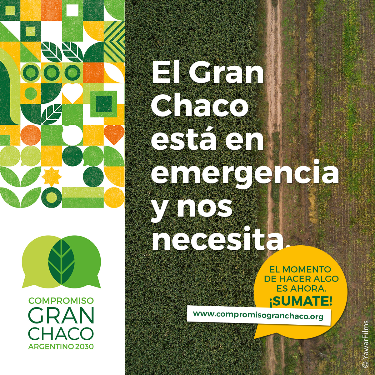 El Gran Chaco esta en emergencia y nos necesita