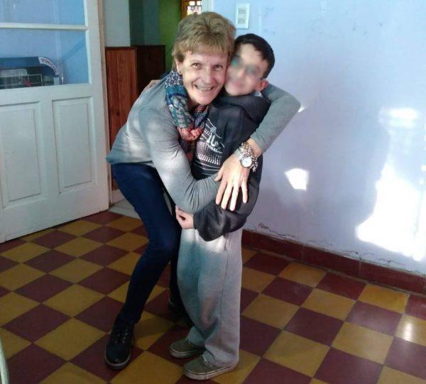 """Viajó a Mendoza para conocer a su ahijado y asegura que la experiencia """"fue maravillosa"""""""